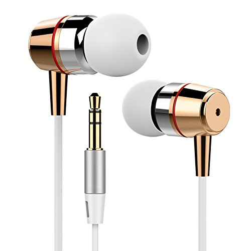 Price comparison product image [White]Original Inpher Bass In-ear Earphones Super Clear Metal Earphone Noise isolating Earbud For iphone 6 Meizu Xiaomi MP3 PC
