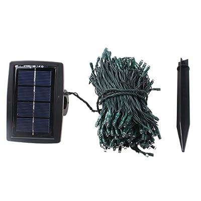 AGPtek® 22m 72ft Solar Power 200 LED String Fairy Light For Outdoor Christmas Party Wedding Garden Decoration Blue