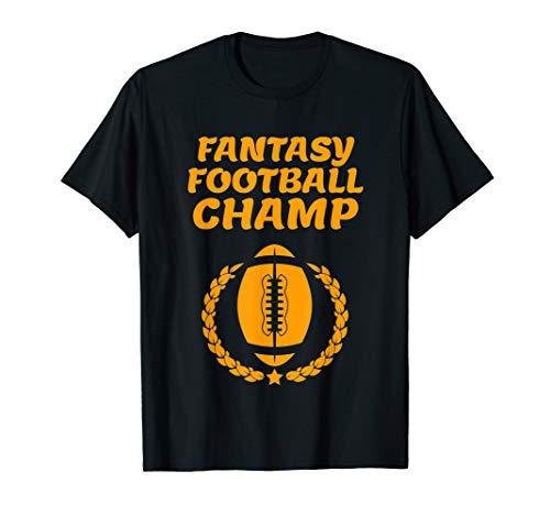 Fantasy Football Dad Men Women Reigning Champ Sport T ()