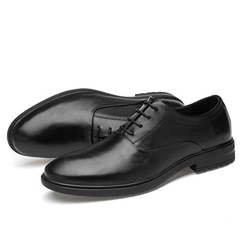 De Color Simple Mxl Oxford Clásico Hombres Formal Casual Calzado Negocios Negro Sólido Para qrRREI