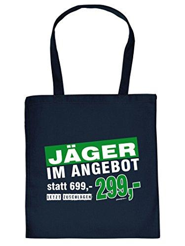 JÄGER IM.. -Tote Bag Henkeltasche Beutel mit Aufdruck. Tragetasche, Must-have, Stofftasche. Geschenk,Jagt
