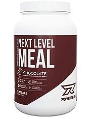 Runtime Next Level Meal - vollwertiger Mahlzeitersatz für langanhaltende Sättigung, Energie, Konzentration und Leistungsfähigkeit, mit Vitaminen und Nährstoffen
