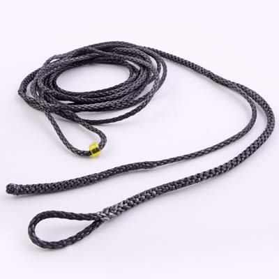 6ft-Ultralight-Whoopie-Slings-Amsteel-Black-Hammock-Suspension ()