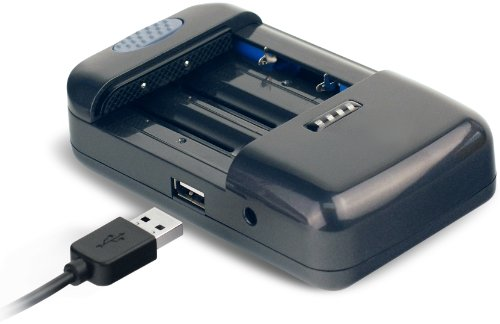 DigiPower TC-U450 Universal Camera Battery Charger (Black)