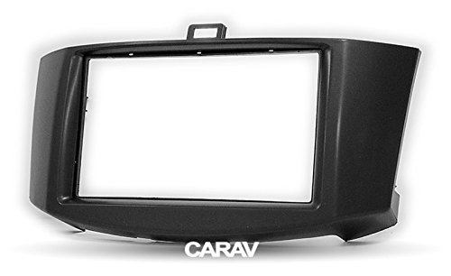 Carav 11-730 Car Stereo Radio installation frame Double Din in Dash Facia Fascia Kit for CHANGAN Alsvin V5 2010-2013 / CHANA Alsvin V5 2010-2013 with 17398mm/178100mm/178102mm by CARAV (Image #2)