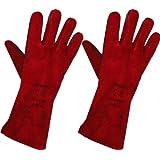 UK Gloves Gants de cheminée Taille L Rouge
