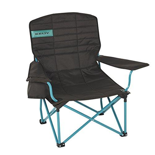 (Kelty Lowdown Camp Chair - Mocha/Tropical Green)