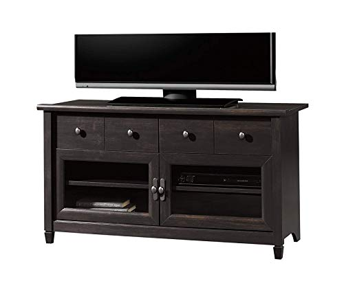 - Edge Water Panel Tv Stand, Estate Black Finish