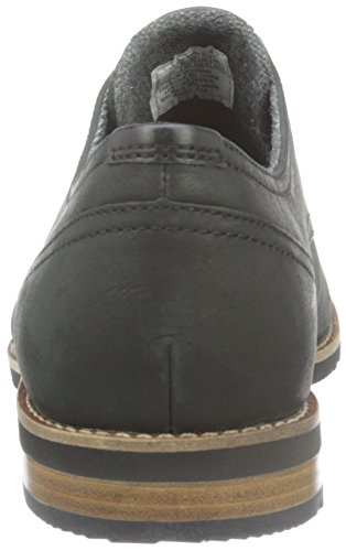 Rockport Ledge Hill Too Plain Toe Blucher, Zapatos de Cordones Derby para Hombre Negro