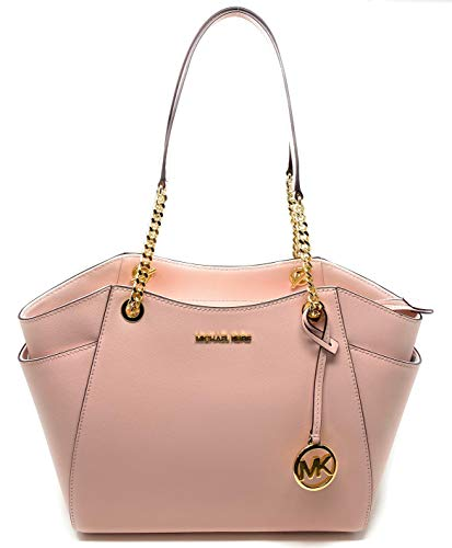 Michael Kors Women's Jet Set Travel - Large Chain Shoulder Tote (Powder Blush)