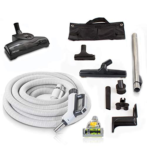 Prolux 30 ft Central Vacuum Hose Kit with Turbo Nozzles