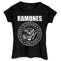 Camiseta Ramones Logo Feminina