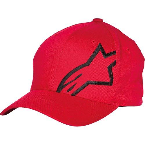 Alpinestars Corp Shift 2 Men's Flexfit Sports Hat/Cap - Red/Black / Large/X-Large