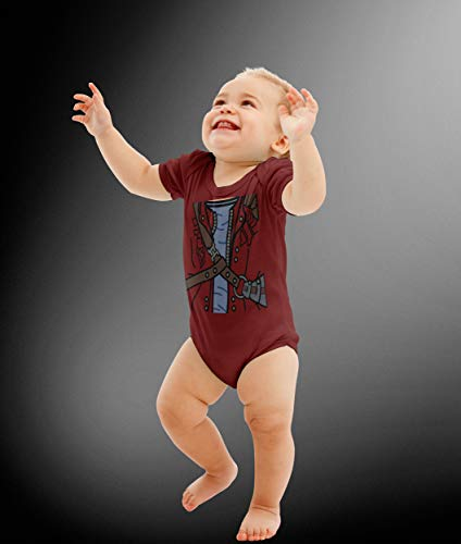 Baby Star Superhero Costume Bodysuit