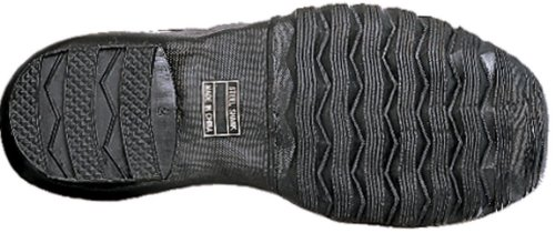 Ranger 10 Botas Pac para hombres con puntera de acero y cuero, color negro (A521)