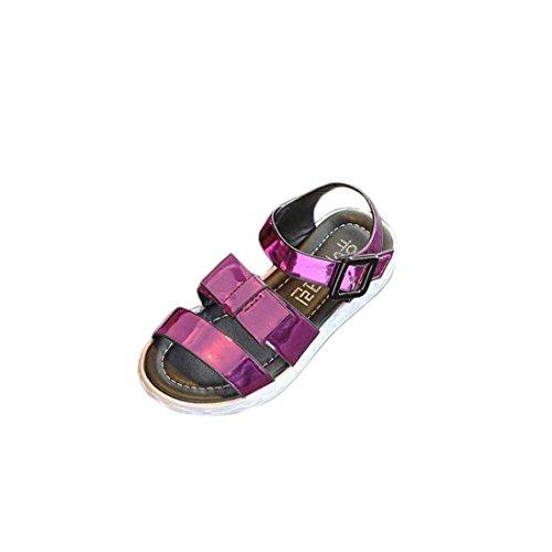 IGEMY Kleinkind Kinder Kinder Prinzessin einzelne Schuhe Sommer Mädchen Sandalen Pink