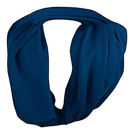 ThreeH Breathable Breastfeeding Nursing Cover Scarf Soft Swaddle Blanket BC17,Navy