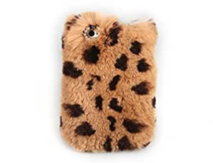 iPhone 6 Plus Case, LC Extreme Luxury Bling Cover Winter Wammer Handmade Soft Rabbit Fur Case Accessories For iPhone 6 Plus 5.5''