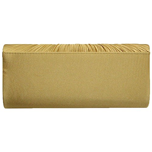 Diamante Crystal Gold Clutch Party Wedding Evening Cckuu Satin Women Bag Prom Purse Pink OqtCtTw