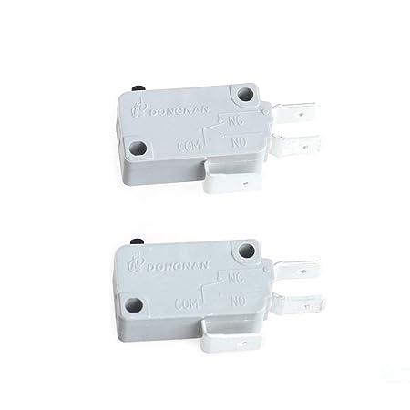 Yowming KW3A - Microinterruptor para puerta de horno de microondas ...
