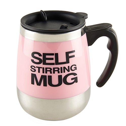 Self Stirring Mug (Pink) - 6