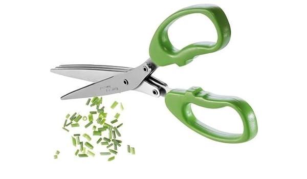 Compra Ernesto® hierbas Tijeras con peine de limpieza - 3 ...