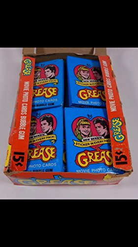 vintage-unopened-1978-grease-4-wax-packs-series-2-trading-cards-non-sport-grease-john-travoltra-topp