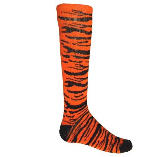 Tiger Safari Acrylic Athletic Socks
