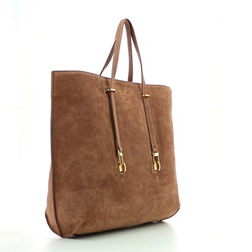 Shopping bag Coccinelle scamosciata