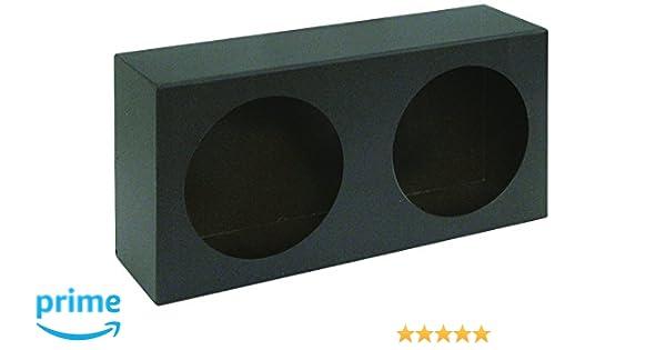 Buyers Products LB6123 Dual Round Light Box Black Powder Coat Steel