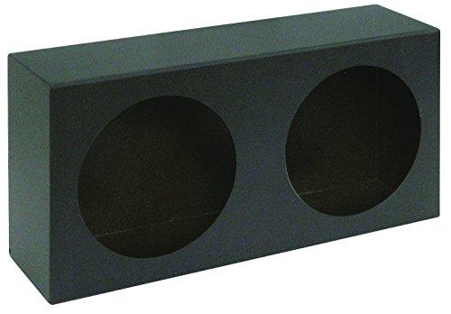 Buyers Products LB6123 Dual Round Light Box, Black Powder Coat -