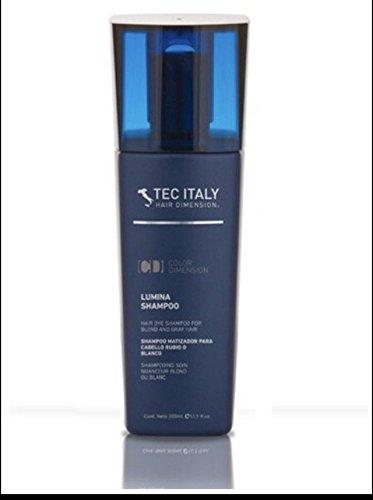 Tec Italy Lumina Shampoo for Blond and Gray Hair 10.14 Oz by Tec Italy