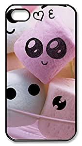 iPhone 4 4s Cases & Covers - Cute Candy Custom PC Soft Case Cover Protector for iPhone 4 4s - Black