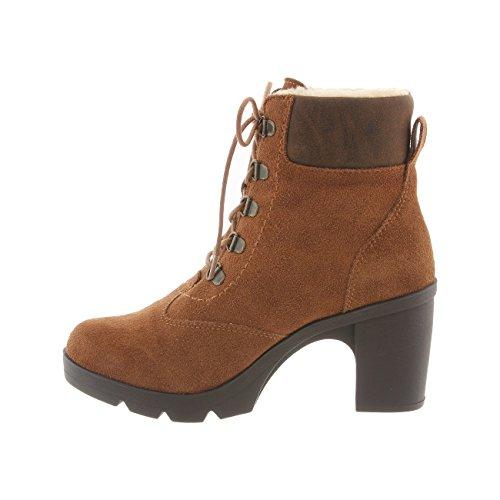 Bearpaw Marlowe Kvinners Boot Hickory, Sjokolade