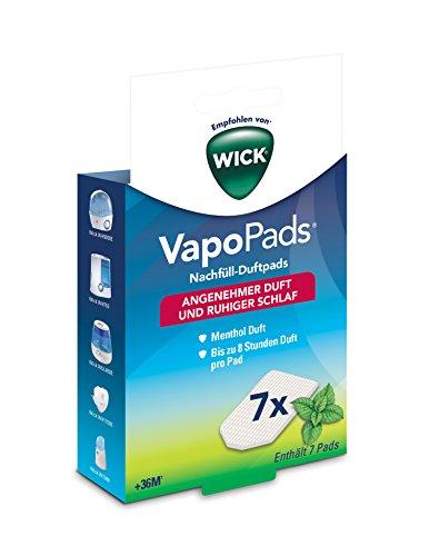 Wick WH7 VapoPads Nachfüll Duftpads, Menthol