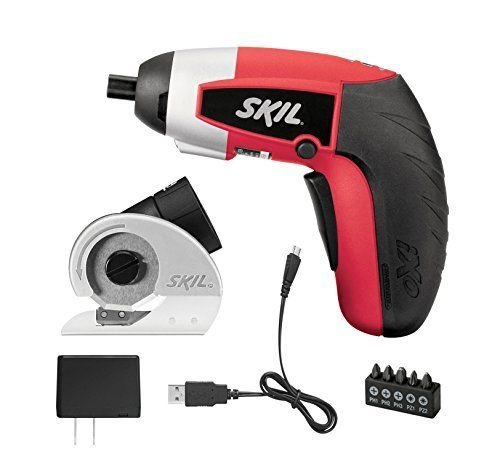 SKIL 2354-12 iXO Power Screwdriver With Cutter Attachment, New, supplier_id_thecandidcow; TRYK50262407754044