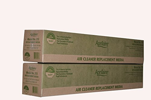 Genuine Aprilaire Part # 213 For Models 4200/2210 and Upgraded 2200 Air Cleaners MERV 13 Case of 2 (Aprilaire 2210 Replacement Filter)