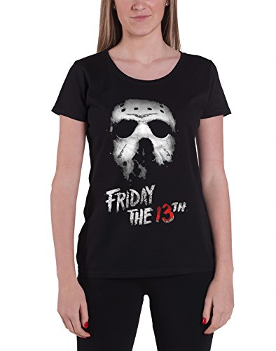 Friday The 13th T Shirt Logo new Official Womens Junior Fit Black -