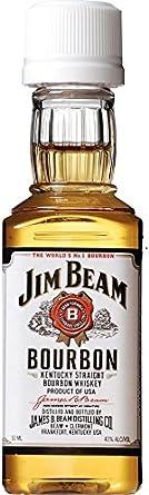 Botellita miniatura bourbon Jim Beam 5cl
