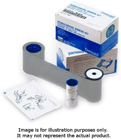 1 - Metallic Silver - Print Ribbon Cassette - for Datacard FP65, FP65i, SD260S, SD460, SP35 Plus, SP55, SP55 Plus, SP75, SP75 Plus 41H4qSG2nSL