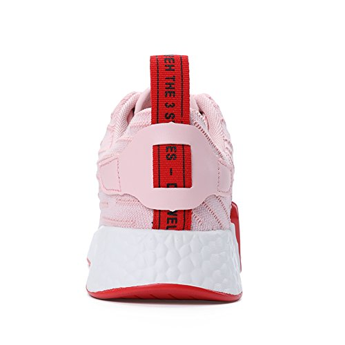 No Comfortable 8 5 Pink Shoes 5 Sneakers 66 US5 Breathable Fitness Women's Running Town up Flyknit Lace SZ6SxT8wrq