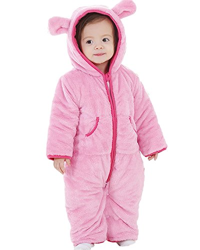 772924a28 Galleon - Kidsform Infant Winter Snowsuit Baby Bear Romper Outfit ...
