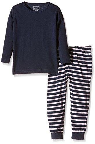 NAME IT Baby-Jungen Zweiteiliger Schlafanzug NITNIGHTSET TOMATO M B NOOS, Gestreift, Gr. 104, Mehrfarbig (Tomato)