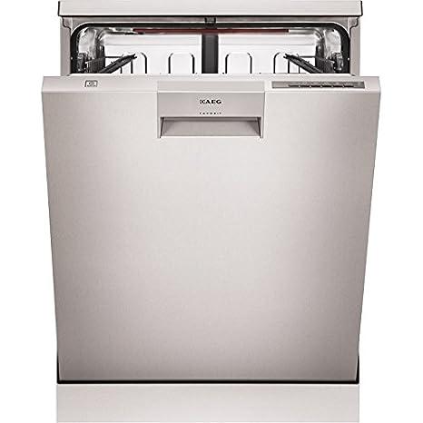AEG F66682M0P lavavajilla - Lavavajillas (Semi-incorporado ...