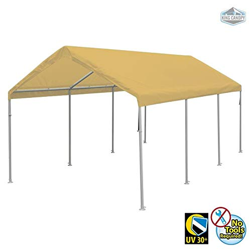 King Canopy Hercules 10' x 20' Tan ()