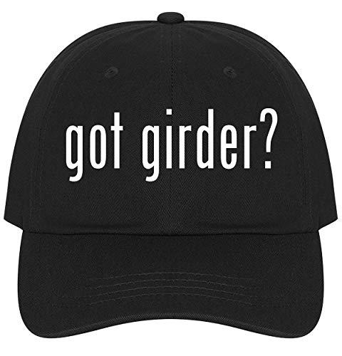 - The Town Butler got Girder? - A Nice Comfortable Adjustable Dad Hat Cap, Black