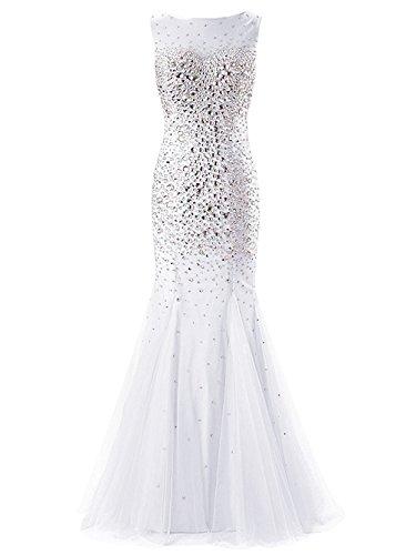 Ad Vestito Donna A Fanciest Bianco Linea 44 w6qxcPBE