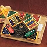 The Ultimate Gourmet Cutting Board Sausage and Cheese Gift Set