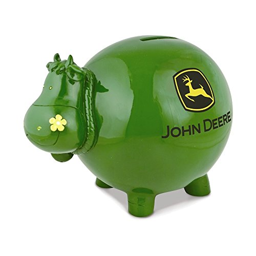 Cast Metal Charms (Jewelry Adviser Gifts Polyresin John Deere Logo Cow Bank)