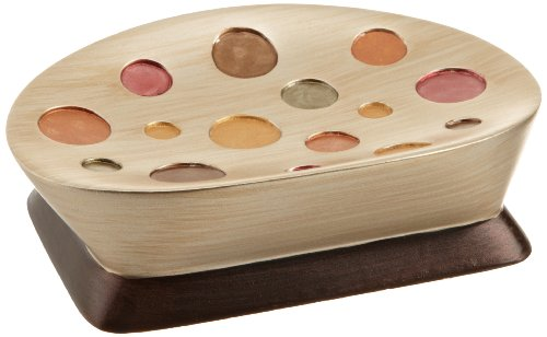 Popular Bath Sunset Dots Soap Dish, Gold (Sunset Soap Dish)